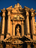 Baroque Facade of Il Duomo, Syracuse, Sicily, Italy Photographic Print by Diana Mayfield