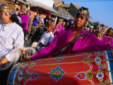 Wedding Musicians on Parade in Selong, Indonesia Photographic Print by John Banagan