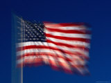 Flag of the United States of America, San Francisco, California, USA Photographic Print by David Tomlinson