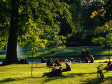 Frederiksberg Palace Gardens, Copenhagen, Denmark Photographic Print by Anders Blomqvist