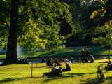 Frederiksberg Palace Gardens, Copenhagen, Denmark Photographic Print by Anders Blomqvist