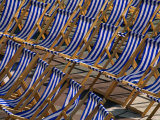 Seats in Front of the Bandstand at Eastbourne, Eastbourne, East Sussex, England Photographic Print by David Tomlinson