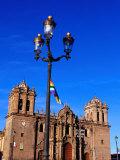 Baroque Facade of La Compania De Jesus, Cuzco, Peru Photographic Print by Ryan Fox