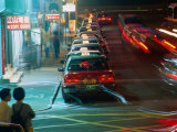 Peak Hour Traffic in Kowloon, Hong Kong, China Photographic Print by Ray Laskowitz
