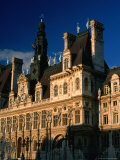 Exterior of Hotel De Ville, Paris, France Photographic Print by Bethune Carmichael