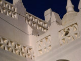 Detail of Al-Muhdar Mosque, Tarim, Yemen Photographic Print by Bethune Carmichael