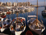 Boats in Piraeus Marina, Athens, Greece Photographic Print by Wayne Walton