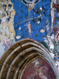 Frescoes by Toma of Suceava Dating Back to 1535, Humor Monastery, Suceava, Romania, Photographic Print by Diana Mayfield