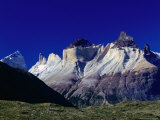 Cuernos Del Paine Mountain, Torres Del Paine National Park, Chile Photographic Print by Brent Winebrenner