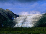 The Landlocked Exit Glacier, Kenai Fjords National Park, USA Photographic Print by Brent Winebrenner