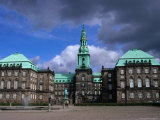 Slotsholmen, Denmark&#39;s Seat of National Government, Copenhagen, Denmark Photographic Print by Anders Blomqvist