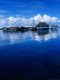 Pearl Farm on Lagoon, French Polynesia Photographic Print by Jean-Bernard Carillet