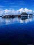 Pearl Farm on Lagoon, French Polynesia Photographic Print by Jean-Bernard Carillet