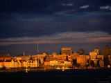 Cityscape from Across Harbour, Victoria, Canada Photographic Print by John Elk III
