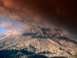 Clouds Over Windy Ridge, Mt. St. Helens, USA Photographic Print by John Elk III