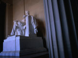 Lincoln Memorial Statue, Washington Dc, USA Photographic Print by Rick Gerharter