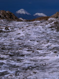 The Volcan Lincancabur, San Pedro De Atacama, Chile Photographic Print by Brent Winebrenner