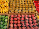 Confectionary on Display, Bruges, West-Vlaanderen, Belgium, Photographic Print by Diana Mayfield