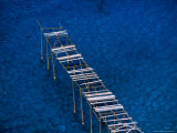 Abandoned Pumice Quarry Jetty,Sicily, Italy Photographic Print by Dallas Stribley