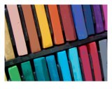 Color Bars Photographic Print by Florene Welebny