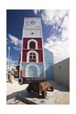 Willem III Tower Oranjestad Aruba Photographic Print by George Oze