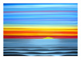 Be The Sea Giclee Print by Jerry Clovis