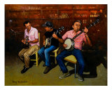Pickers Giclee Print by Doug Strickland
