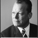Willy Brandt Serious Photographic Print