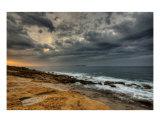Aube Orageuse Sur La Mer Mediterranee - Provence Photographic Print by Patrick Morand