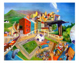 Let The Games Begin! Giclee Print by Vivienne King