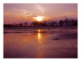 Sunset At Orchard Beach Photographic Print by Joseph Pucci