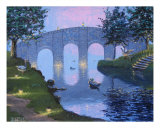 Evening Bridge Photographic Print by Ben Davis