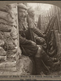 Members of the Black Watch Regiment in the Trenches Photographic Print