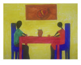 The Dinner Table Giclee Print by Veronica Moton