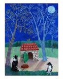 Full Moon Giclee Print by Louise Francke