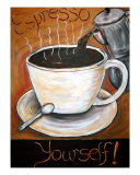 Espresso Yourself Giclee Print by Angel Turner Dyke