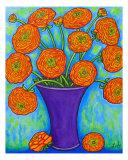 Radiant Ranunculus Giclee Print by Lisa Lorenz