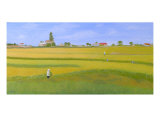 Rice Field In Northern Vietnam Giclee Print by Thi Nguyen