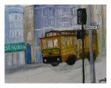 Stoplight Giclee Print by Janice Harvey