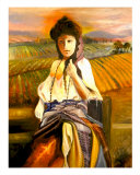 Tuscan Lady Giclee Print by Mary Rucker