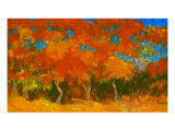 Fall Trees Giclee Print by Brian Simons