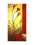 Lily Trio Giclee Print by Megan Aroon Duncanson