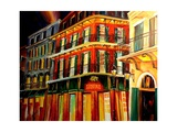 Desire Oyster Bar On Bourbon Street Giclee Print by Diane Millsap