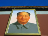 Portrait of Mao Tse Tung Over Tiananmen Square, Beijing, China Photographic Print by Jonathan Smith