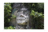 Taino Indian Sculpture, Isabela, Puerto Rico Photographic Print by George Oze