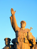 Socialist Statue on Tiananmen Square, Beijing, China Photographic Print by Jonathan Smith