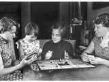 Beatrix Queen of Holland Seen Here on the Right with Her Sisters Irene Mary Christina and Margaret Photographic Print