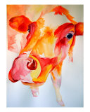 Vache Giclee Print by M. Dang