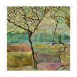 Tree And A Bird Giclee Print by Hyunah Kim