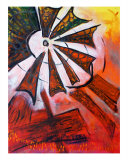 Windmill Flight Giclee Print by Cindy Davis